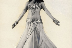 Aisha Ali from an Omar Khyam publicity flyer for the Aisha Ali Dance Co. in London.