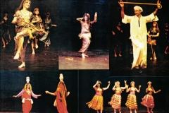 The Aisha Ali Dance Co. at the Ivar Theater and other Venues during the Los Angeles Festival. 1992