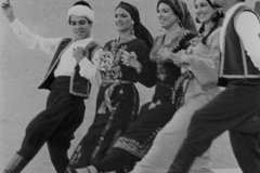 The Aisha Ali Dance Company performing a Debki for the Garden Theater Festival. 1976
