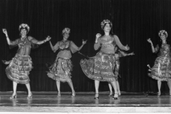 Aisha Ali and Company performing a Ghawazi dance at USC, Bovart Auditorium.