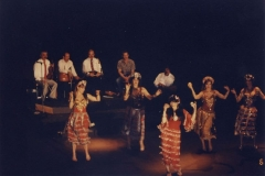 The Aisha Ali Dance Co. performing a Ghawazi dance at the Ivar Theater.