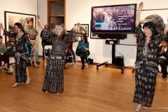 "Ghawazi dance at Aisha's preview of her ""Wedding in Luxor"" video at the G2 Gallery on Abbott Kinney in Venice, CA."