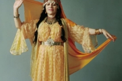 Photo by Keith Drozen of Aisha Ali wearing a Ouled Naïl costume.