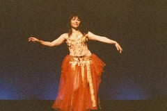 Aisha in a theater performance 2