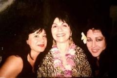 Dancers Alise Khazzaka Aisha Ali and Kalei in Maui celebrating our friendship.