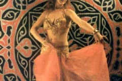 Gilda, one of the lead dancers with the Aisha Ali Dance Co. during the 1970s. Photo by Aisha Ali