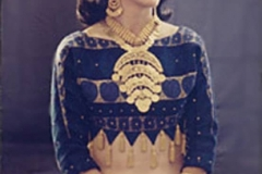 Portrait of Jamila early in her Career wearing a costume made for her by designer Bob Macky. 1960s