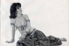 Jamila wearing Turkish Ottoman style chalvar. 1960s