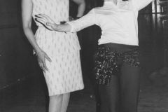 Samia Gamal coaching Aisha Ali in 1971.