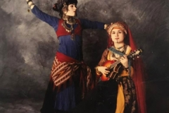 The Hammer Sisters, Maria and Christine, in Performance.