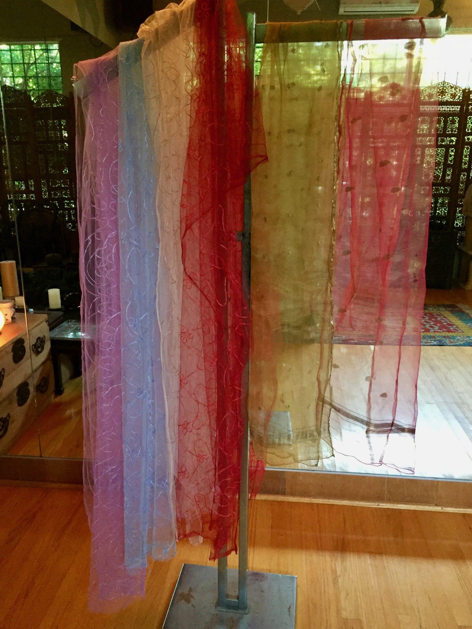 Veils - Veils: Silk and nylon  – $10 ea.
